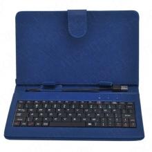Калъф с клавиатура за таблет 9 инча - USB - СИН