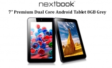 "Nextbook 7"" Premium Dual Core Android Tablet 8GB Grey"