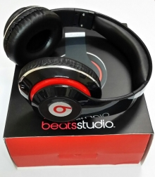 Нов модел! Аудио слушалки Beats by Dre STUDIO HD - ЧЕРНИ