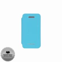 Луксозен Кожен калъф за Iphone 4/4S СИН ТИП ПАПКА FLIP COVER