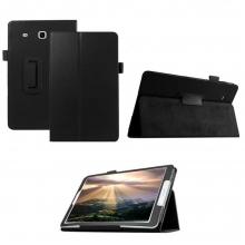 Кожен калъф за Samsung Galaxy Tab E (T560) 9.6 инча ПАПКА + ПИСАЛКА