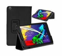 Кожен калъф за таблет Lenovo Tab2 A8-50F 8 инча ПАПКА + ПИСАЛКА