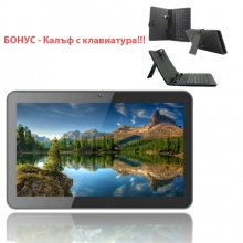 ПРОМОЦИЯ! Таблет Diva Premium Quad 10.1 инча IPS 3G GPS + Калъф с клавиатура Бонус