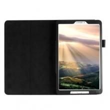 Кожен калъф за таблет Samsung Galaxy Tab A 7.0 (2016) T280, черен + ПИСАЛКА