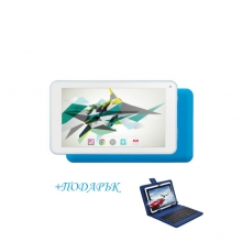 Розов Таблет QuadColor Blue - 7 инча, 16GB + СИНЯ КЛАВИАТУРА