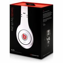 Слушалки Beats By Dr Dre Studio - БЕЛИ (реплика)