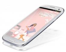 Samsung GALAXY SIII GT-I9300, White La Fleur