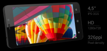 Смартфон Allview X1 Soul Mini - 4.5 инча, Quad core, 1GB RAM