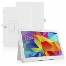 Кожен калъф за таблет Samsung Galaxy Tab 4 10.1 инча (T530, T535) ПАПКА + ПОДАРЪК ПИСАЛКА