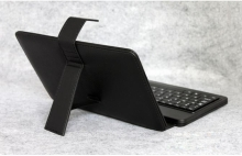 ХИТ ЦЕНА! Калъф с клавиатура за таблети 7 инча micro USB