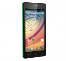 Смартфон Prestigio Wize E3 PSP3509DUO - Две СИМ карти, Зелен