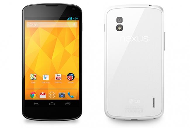 LG Nexus 4,БЯЛ