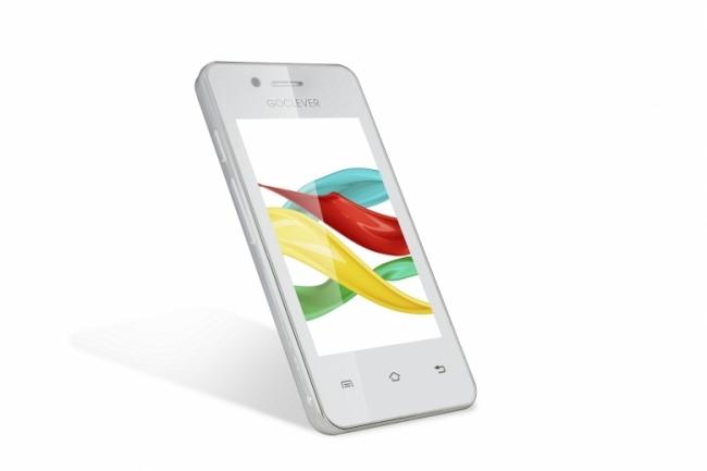 """Смартфон GoClever Quantum 350 Colour Concept - 3.5"""", двуядрен, GPS"""