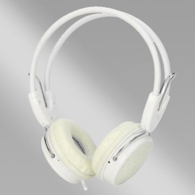 Стилни бели слушалки Yongle IP-806