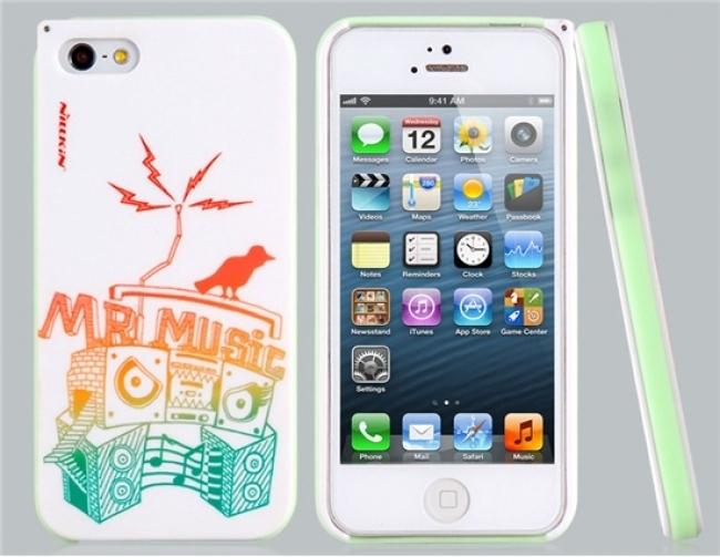 Пластмасов калъф Nillkin Mr. Music за iPhone 5/5s