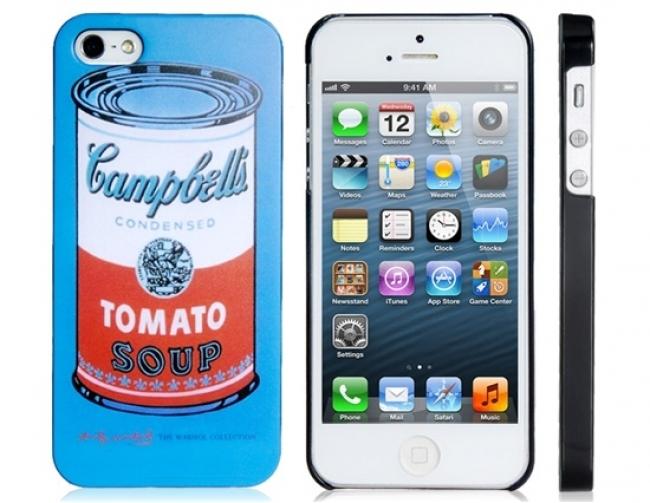 Пластмасов калъф Tomatoe за iPhone 5/5s