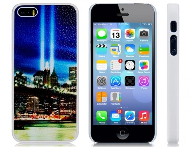 Пластмасов калъф за iPhone 5/5s двете кули