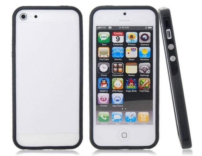 Силиконов калъф ЗА Iphone 4/4S Бял матов цвят