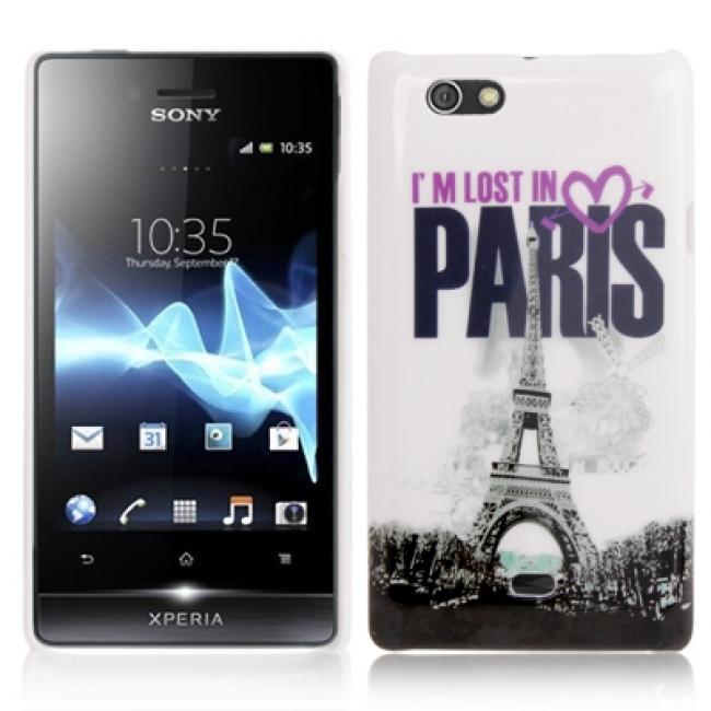 Пластмасов калъф за Sony Xperia Miro - St23i-ПАРИЖ