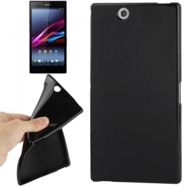 Силиконов калъф за Sony Xperia Z Ultra - XL39h черен