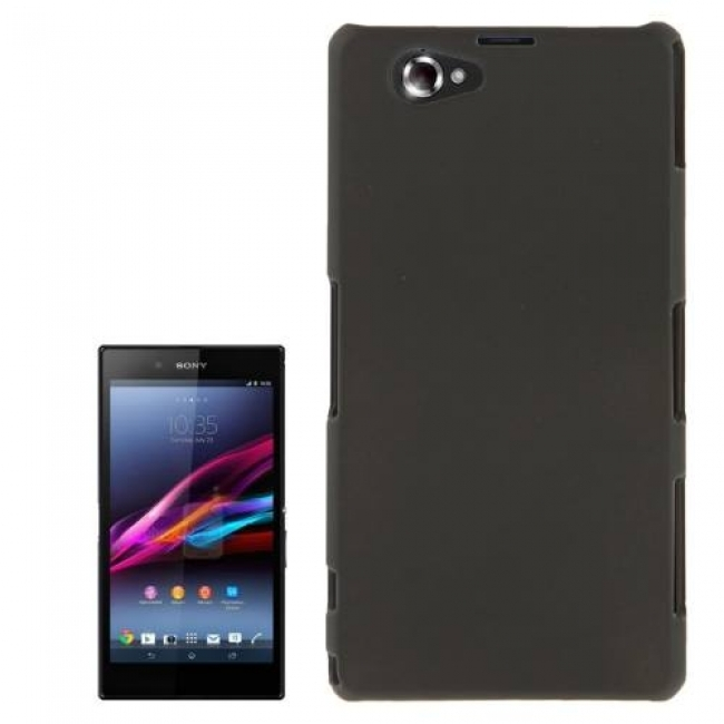 Пластмасов калъф за Sony Xperia Z1s - Z1 mini  черен