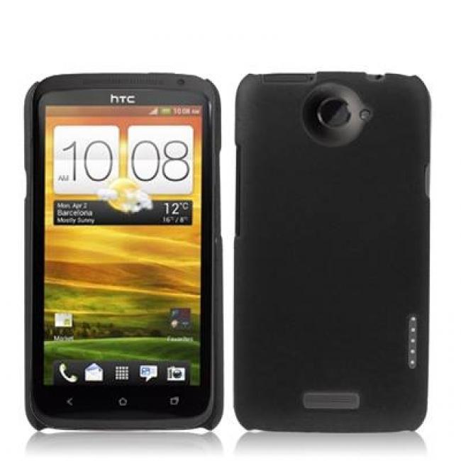 Пластмасов калъф за HTC-ONE Х  ЧЕРЕН