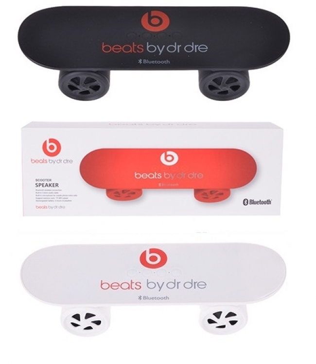 Bluetooth аудио колонка с MP3 плеър Beats By Dr Dre Скейтборд - 3 цвята