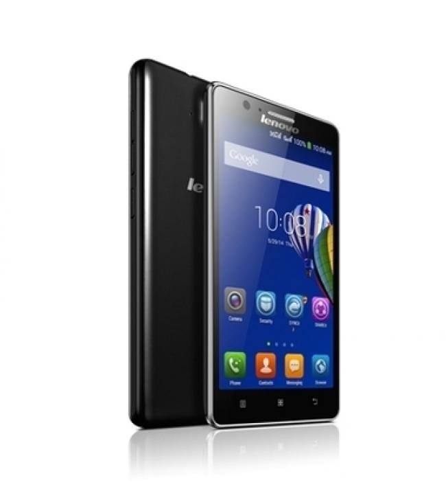 Смартфон Lenovo A536 - 5 инча, две SIM карти, GPS, ЧЕРЕН