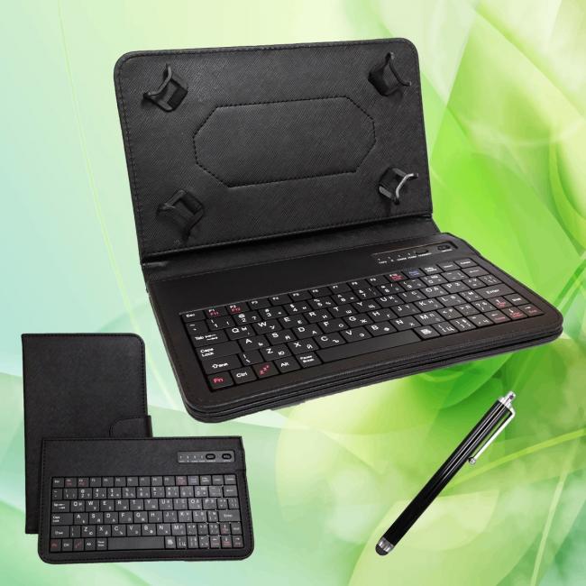Bluetooth калъф с клавиатура за таблети 7, 7.9 инча + Протектор и писалка