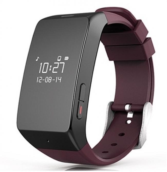 Смартчасовник MyKronoz Smartwatch Zewatch 2 bordeaux - Бордо