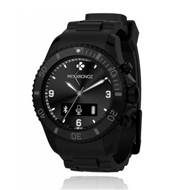 Смартчасовник MyKronoz Smartwatch ZeClock black