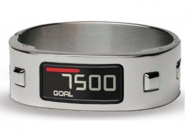 Гривна Garmin Vivofit 2 Bundle със стилна сребърна метална каишка