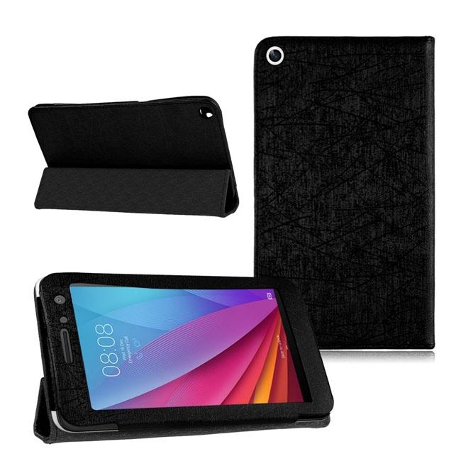 Кожен калъф за таблет Huawei MediaPad T1 7 инча ПАПКА + ПИСАЛКА