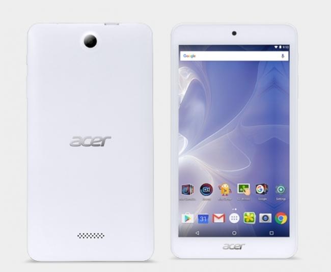 Таблет Acer Iconia B1-780 - 7 инча, Четириядрен, Android 6.0, Бял