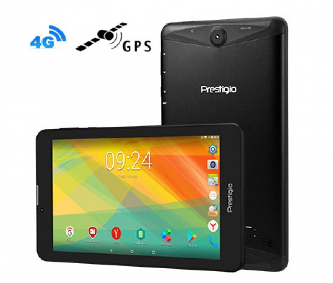 Prestigio Grace 3157 4G 4в1 Таблет 7 инча, SIM, Android 7.0, GPS, DVR, 24GB