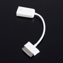 OTG кабел за таблет SAMSUNG Galaxy Tab - Бял