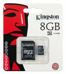 Карта памет Micro SD Kingston 8GB