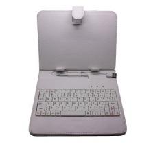 """Калъф с клавиатура за таблет 8"""" - USB - БЯЛ"""
