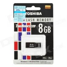 Мини флаш памет 8GB Toshiba - черна