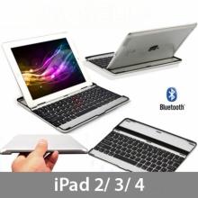 Алуминиева, безжична Bluetooth клавиатура за IPAD 2/3/4