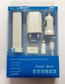 Зарядно устройство за дигитални продукти 6 в 1 R-601