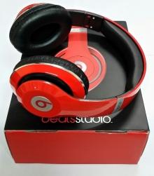 Нов модел! Аудио слушалки Beats by Dre STUDIO HD - ЧЕРВЕНИ