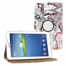 Кожен Калъф За Таблет Samsung Galaxy Tab 3 - 7 инча с карта