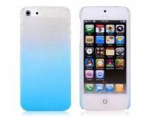 """Пластмасов калъф за iPhone 5/5s с """"мокър"""" ефект"""
