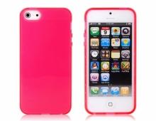 Червен силиконов калъф за iPhone5/5s