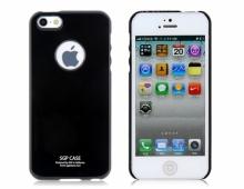 Пластмасов калъф SGP-case черен за iPhone 5/5s