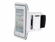 Водоустойчив калъф за ръка бял за iPhone 5/5s
