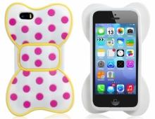 Силиконов калъф за iPhone 5/5s панделка