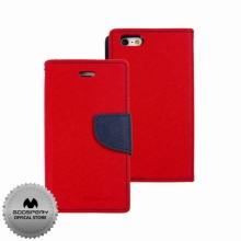 Кожен луксозен калъф за IPHONE 5/5S Червен тип папка GOOSPERY