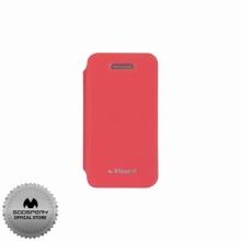 Луксозен Кожен калъф за Iphone 4/4S РОЗОВ ТИП ПАПКА FLIP COVER